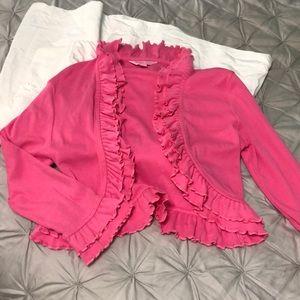 Lilly Pulitzer Shrug Hot Pink XS